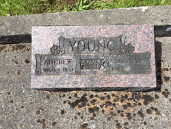 Andrew Young 1860-1951, Louise Young 1863-1951