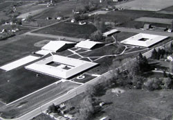 Walla Walla High School Campus. It was a brand new school when I attended.